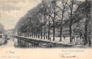 Ansichtkaart 's-Gravenhage 's Hage Hooge Wal - Koningsstallen Vivat No. 2456 HC20736