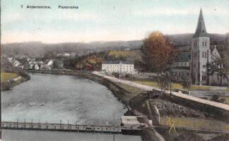 Ansichtkaart België Anseremme Panorama 1908 Maas Europa HC20765