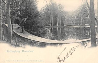 Ansichtkaart Rozendaal Kettingbrug Rosendaal 1902 ( Vivat No. 3119 ) HC20805