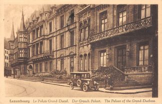 Ansichtkaart Luxemburg Luxembourg Le Palais Grand Ducal Auto 1932 Europa HC20819