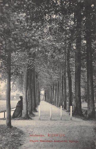 Ansichtkaart Rijswijk (ZH) Julialaantjes 1911 Den Haag HC20843