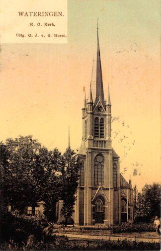 Ansichtkaart Wateringen R.C. Kerk 1906 Westland HC20847