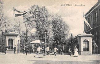 Ansichtkaart Amsterdam Ingang Artis 1910 Dierentuin Zoo HC20888