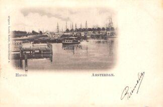 Ansichtkaart Amsterdam Haven 1903 HC20911