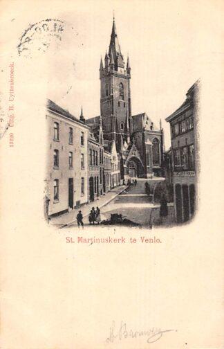 Ansichtkaart Venlo St. Martinuskerk 1901 HC20921