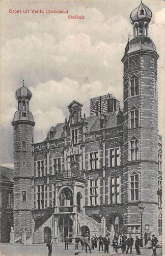 Ansichtkaart Venlo Stadhuis 1909 HC20922