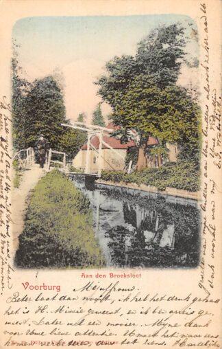 Ansichtkaart Voorburg Aan den Broeksloot 1904 Den Haag HC20924