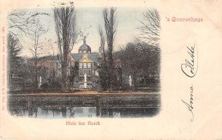 Ansichtkaart 's-Gravenhage Huis ten Bosch 1900 HC20945