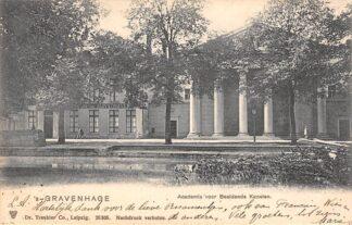Ansichtkaart 's-Gravenhage Academie voor Beeldende Kunsten HC20951