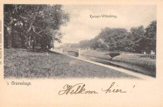 Ansichtkaart 's-Gravenhage Kanaal - Wittenbrug HC20957