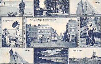 Ansichtkaart 's-Gravenhage Boekhorststraat HTM Tram HC20964