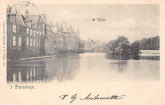 Ansichtkaart 's-Gravenhage de Vijver 1902 HC20973