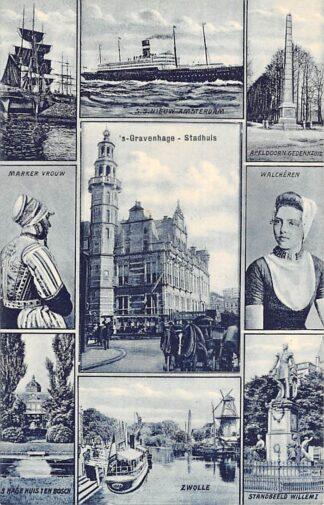 Ansichtkaart 's-Gravenhage Stadhuis HC20985