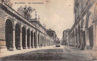 Ansichtkaart Italië Bologna Via Indipendenza Tram 12 Italia Europa HC21057