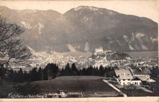 Ansichtkaart Oostenrijk Kufstein u. Thierberg Fotokaart Osterreich Austria Europa HC21060