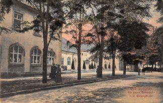 Ansichtkaart Duitsland Bad Nauheim Die neue Badehauser v.d. Ludwigsstrasse 1908 Hessen Deutschland Europa HC21124