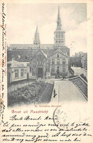 Ansichtkaart Maastricht St. Servatius Klooster 1900 HC21134
