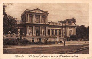Ansichtkaart Haarlem Koloniaal Museum in den Haarlemmerhout 1919 HC21235