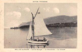 Ansichtkaart Frankrijk Aix-les-Bains Lac du Borget La Chambotte Le Corsuet France Europa HC21246
