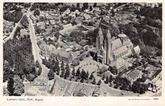 Ansichtkaart Laren (NH) R.K. Kerk 1939 KLM Luchtfoto 15963 Gooi HC21253
