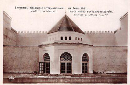 Ansichtkaart Frankrijk Paris Exposition Coloniale Internationale 1931 Pavillon du Maroc France Europa HC21265