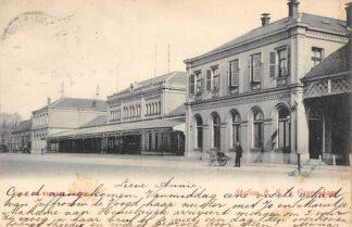 Ansichtkaart 's-Gravenhage Station S.S. 1903 Spoorwegen HC21293