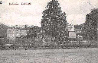 Ansichtkaart Arnhem Bronbeek 1916 Monument HC21306