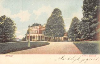 Ansichtkaart Arnhem Kasteel Sonsbeek HC21308