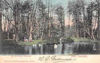 Ansichtkaart Arnhem Park Sonsbeek Bij de kleine Waterval 1903 HC21311