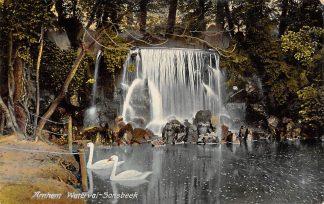 Ansichtkaart Arnhem Sonsbeek Waterval 1908 HC21313
