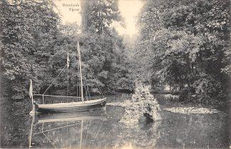 Ansichtkaart Arnhem Bronbeek Vijver met scheepje HC21331