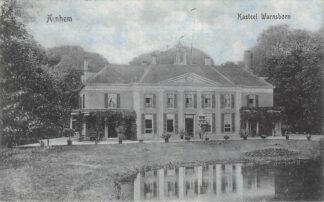 Ansichtkaart Arnhem Kasteel Warnsborn 1912 HC21333