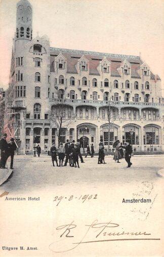 Ansichtkaart Amsterdam Americain Hotel Pension Café RestauranHC21339