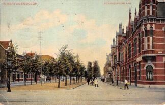 Ansichtkaart 's-Hertogenbosch Koninginnenlaan 1907 HC21397
