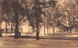 Ansichtkaart 's-Hertogenbosch Plantsoen 1925 HC21398