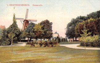 Ansichtkaart 's-Hertogenbosch Sonneveld Molen 1917 HC21399