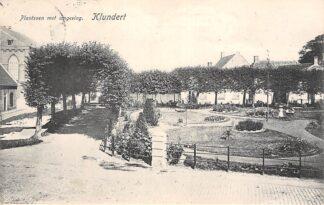 Ansichtkaart Klundert Plantsoen met omgeving 1906 Moerdijk HC21416