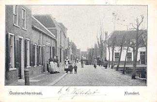 Ansichtkaart Klundert Oostachterstraat 1904 Moerdijk HC21417