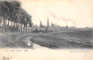 Ansichtkaart Klundert Gezicht op Klundert Molen 1904 Moerdijk HC21418