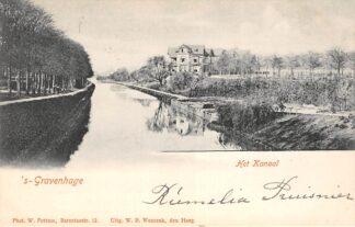 Ansichtkaart 's-Gravenhage Het Kanaal 1901 HC21451