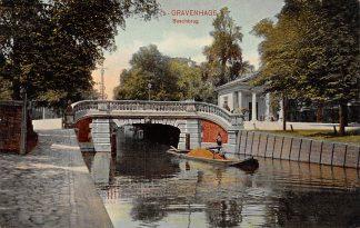Ansichtkaart 's-Gravenhage Boschbrug 1907 HC21453