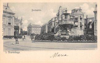 Ansichtkaart 's-Gravenhage Bankaplein HC21458