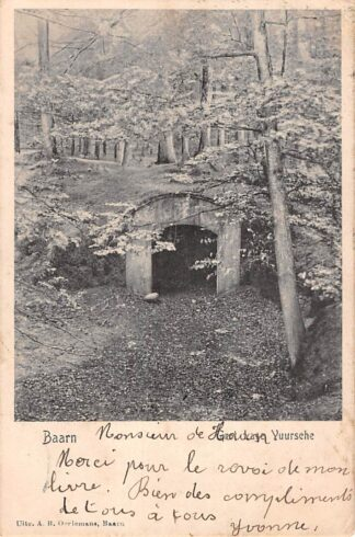 Ansichtkaart Baarn Grot Lage Vuursche 1905 HC21485