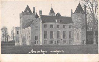 Ansichtkaart Heemskerk Kasteel Assumburg noordzijde HC21508