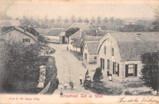 Ansichtkaart Eck en Wiel Dorpstraat Buren (GD) Betuwe 1904 HC21515