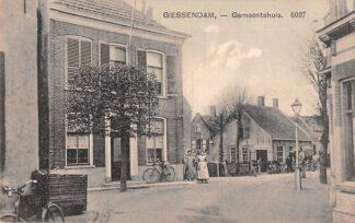 Ansichtkaart Hardinxveld-Giessendam Giessendam Gemeentehuis 1911 HC21522