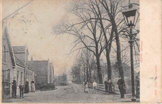 Ansichtkaart Heiloo Kerkweg 1906 HC21525