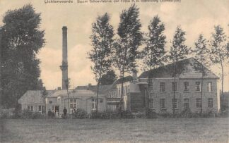 Ansichtkaart Lichtenvoorde Stoom Schoenfabriek der Firma H.B. Sterenburg (Achterzijde) HC21535