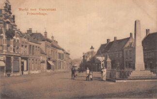 Ansichtkaart Princenhage Breda Markt met Voorstraat HC21546