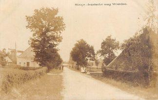 Ansichtkaart Wierden Hooge Hexelsche weg Molen Fotokaart Bij Almelo Twente HC21559